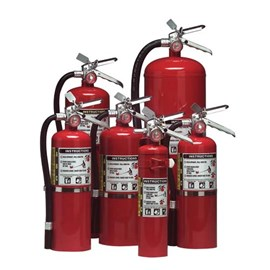 Multi-Purpose Dry Chemical Fire Extinguisher - 2.5 Lbs Capacity