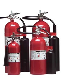 Carbon Dioxide Fire Extinguisher - 10 Lbs Capacity