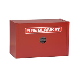 Drop Type Surface Mount Fire Blanket Cabinet [10 x 16  x 8 Inch]