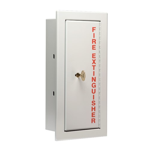 24 x 9 Inch Fire Rated Detention Cabinet for 10 Lbs ABC Fire ...