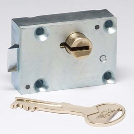 Detention Cabinet Door Locks - Heavy Duty Latch