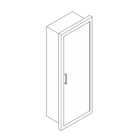 Solid Door for Cabinets