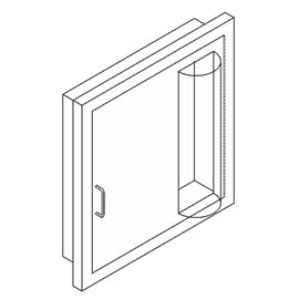 Cameo Door for Hose or Valve Cabinet