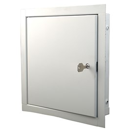 12 x 12 inch Exterior Door with Internal Release Latch