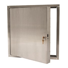 10 x 10 Inch Fire Rated Access Panels for All Ceiling Surfaces - Stainless Steel