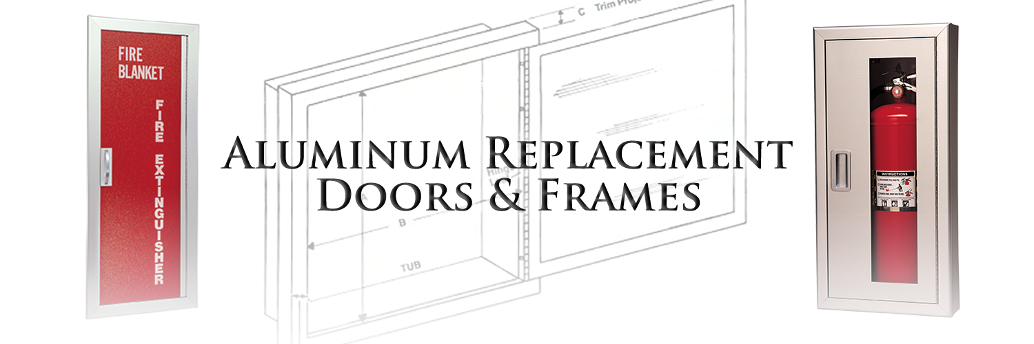 Aluminum Replacement Doors and Frames