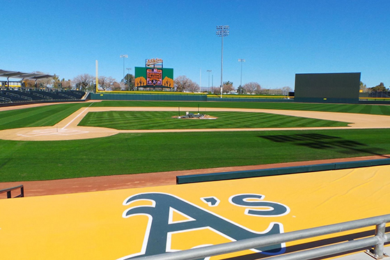 Oakland A's Spring Training Facility