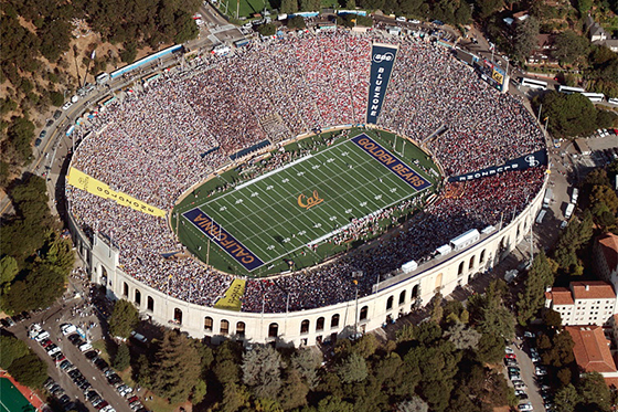 University of California Memorial Stadium